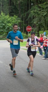 Evan & Kristin Race for Animals 10k 6.28.14