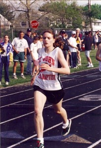 High School Track Photo