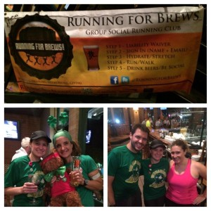 Running for Brews March 18