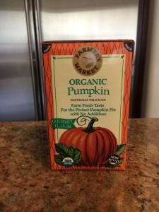 Organic Pumpkin Puree box