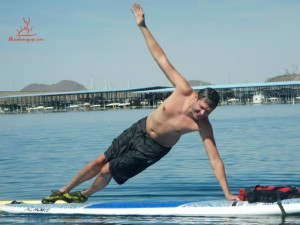 Yoga:SUP - Evan side plank