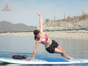 Yoga:SUP Jul 12 - Kristin side plank
