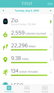 Fitbit Aug 5