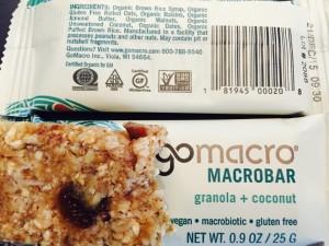 Granola & Coconut GoMacro
